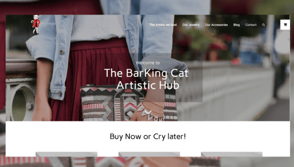 the barking cat online shop