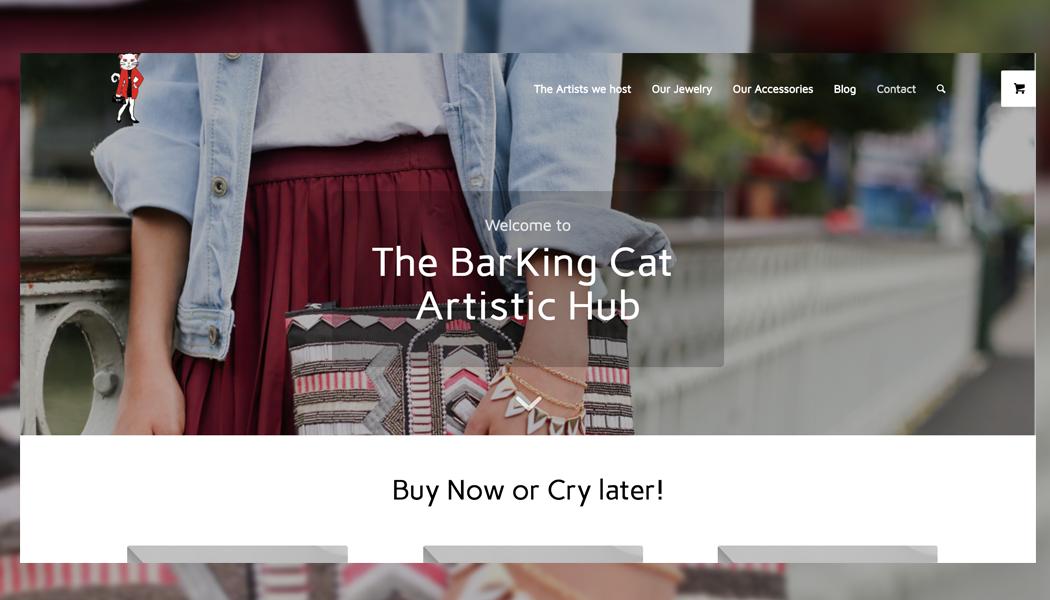 the barking cat online shop