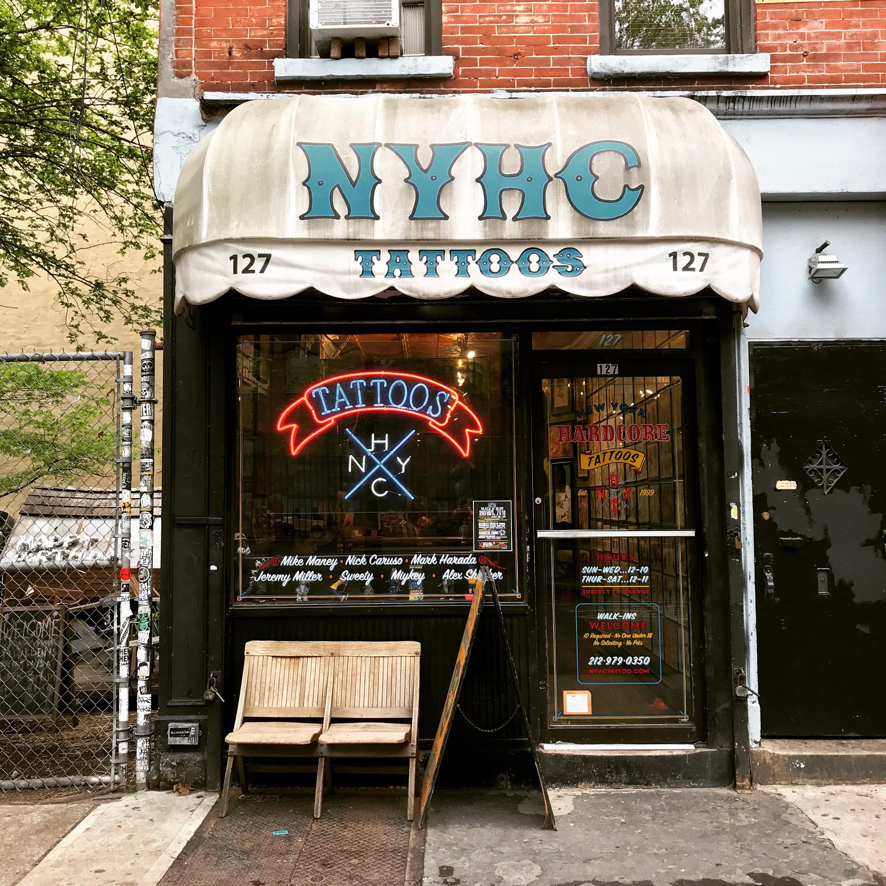 New York Day 9 The New York City Honeymoon Tattoo Miss